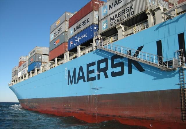 Maersk. Credit: Ed / Flickr