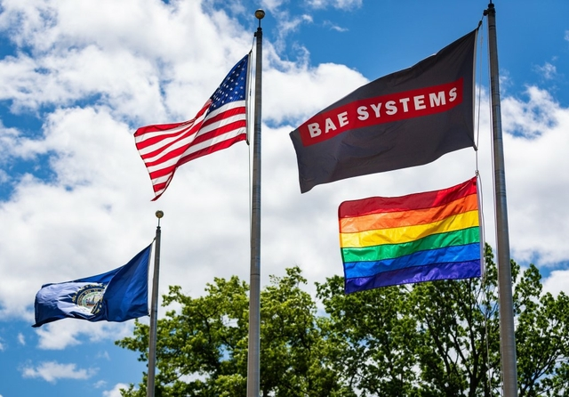 BAE Systems Pride sponsorship. Credit: BAE Systems Electronic Systems / Facebook