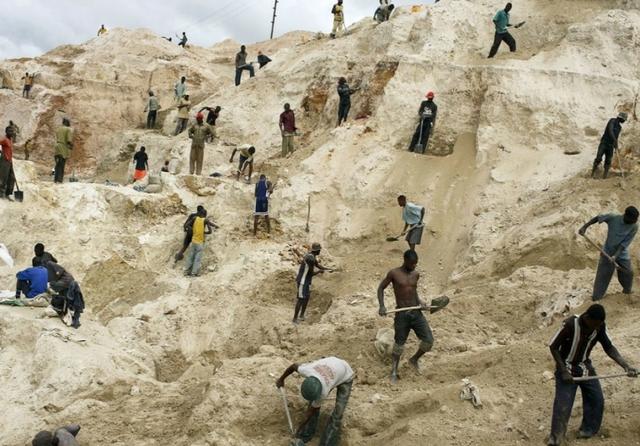 DRC artisanal mines