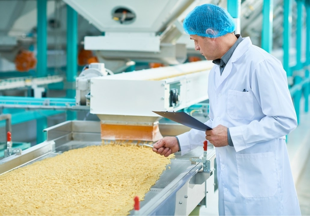 Food manufacturing quality inspection. Credit: Beckhoff