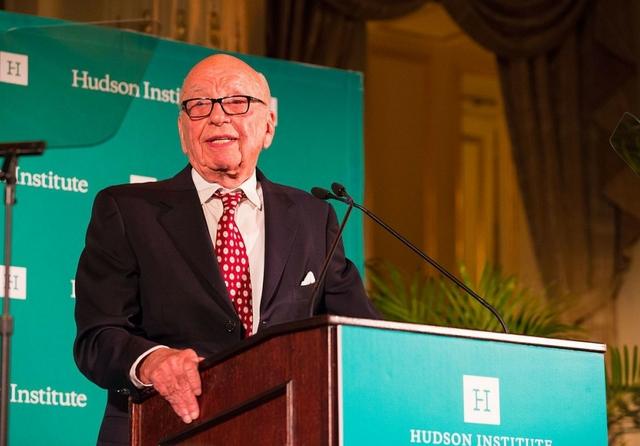 Rupert Murdoch. Credit: Hudson Institute