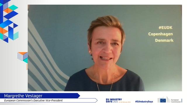Margaret Vestager, EU Industry Days 2021