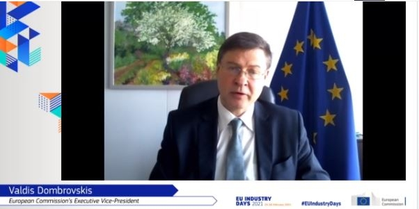 Valdis Dombrovskis, European Commission