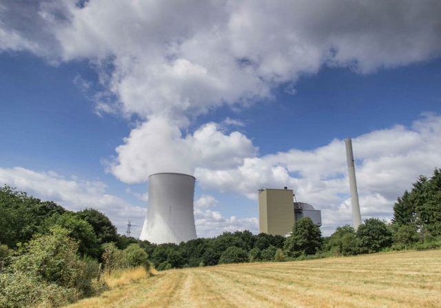 Bexbach coal power plant in Saarland, Germany