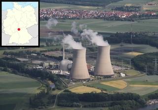 Grafenrheinfeld nuclear power plant, Germany