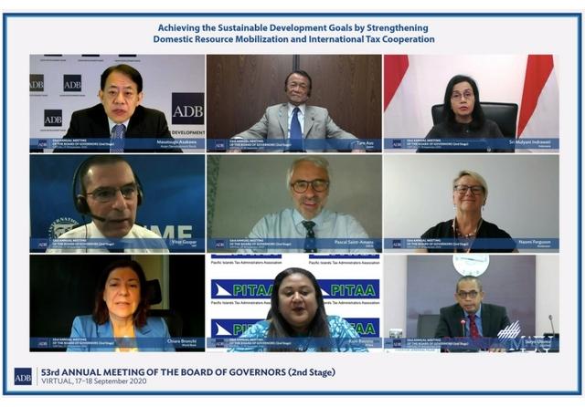 53rd ADB Annual Meeting: ADB Webinar. Credit: Asian Development Bank