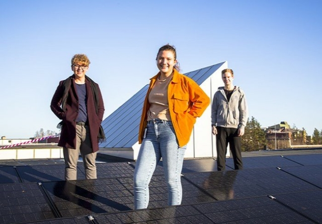 Göranssonska school solar cells. Source: Sandvik
