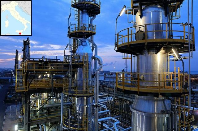 Eni biorefinery, Gela, Italy. Source: Eni