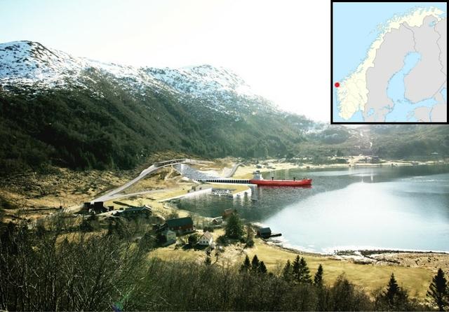 Stad tunnel entrance, Moldefjord. Source: Kystverket