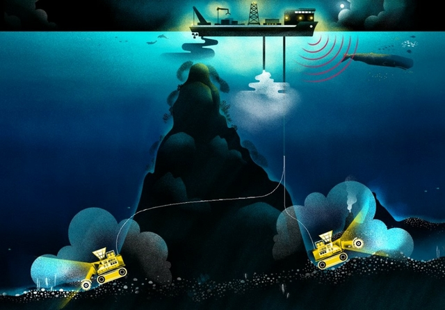 Deep seabed mining. Source: WWF