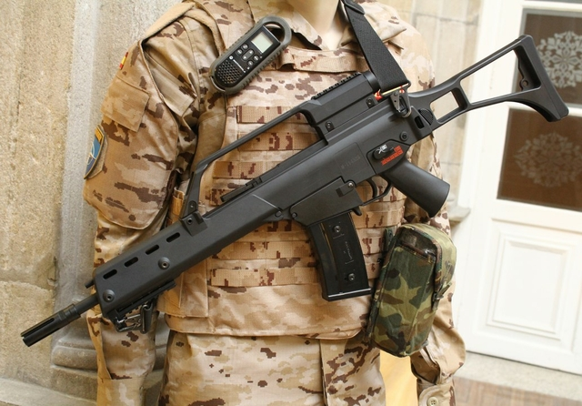 Heckler & Koch G36 assault rifle. Source: