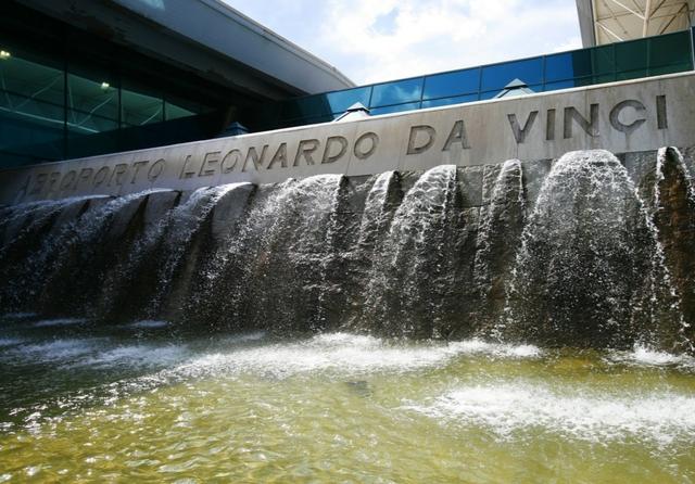 Aeroporto Leonardo da Vinci. Source: Aeroporti di Roma