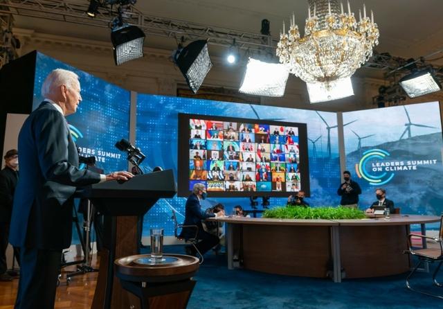 Biden opens virtual Leaders Summit on Climate. Source: White House / Adam Schultz