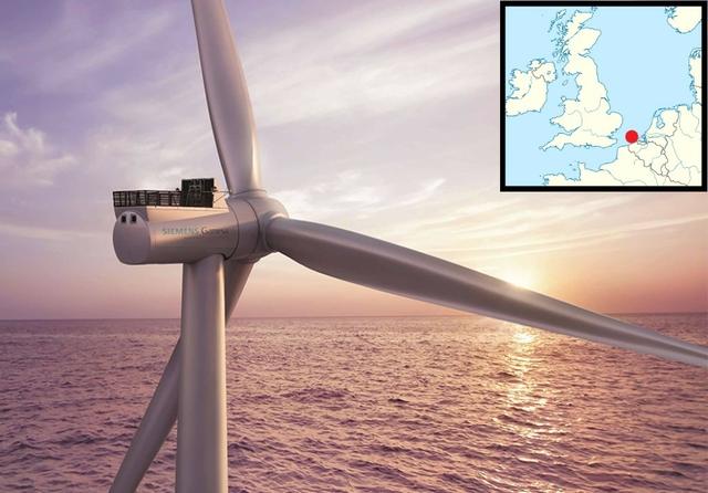 SeaMade Wind Farm, Belgium. Source: Siemens Gamesa