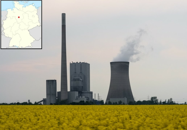 Mehrum coal-fired power station, Lower Saxony, Germany. Source: x1klima / Flickr