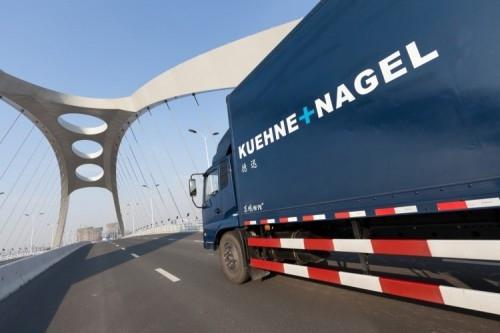 Kuehne + Nagel truck, China