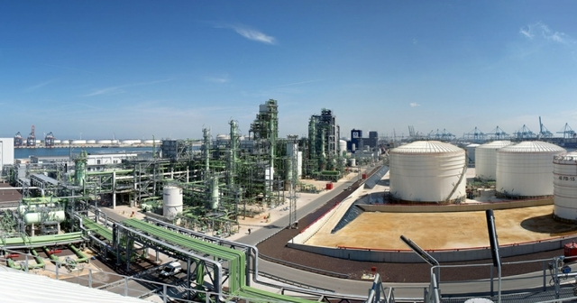 Neste Refinery in Rotterdam