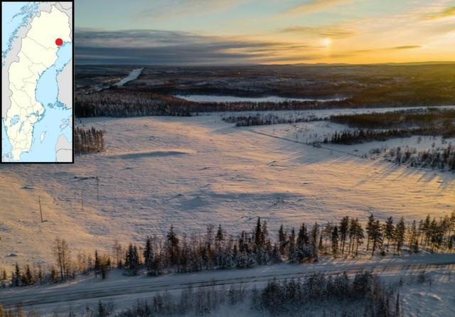 Boden-Luleå, Norrbotten, Sweden. Photo: H2GS