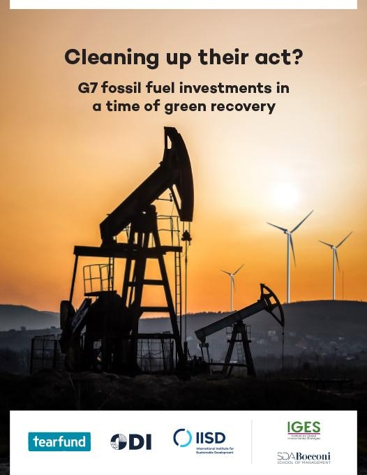 Cleaning up their act? G7 fossil fuel investments report