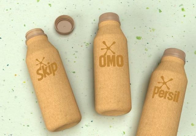 Unilever paper bottles