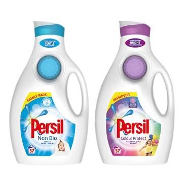 Persil plastic bottles