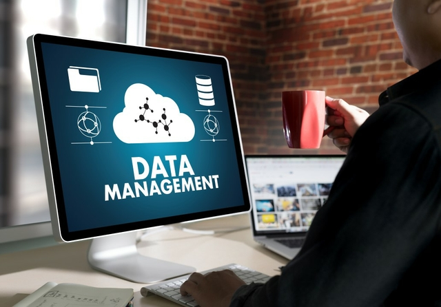 Data management. Photo via Shutterstock