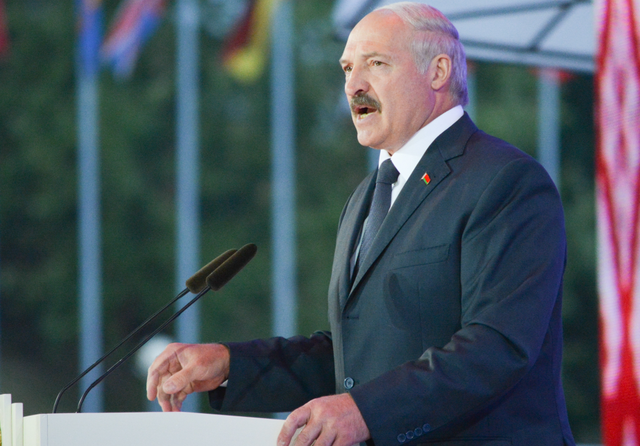 Alexander Lukashenko in 2014. Credit: Okras via Wikimedia Commons