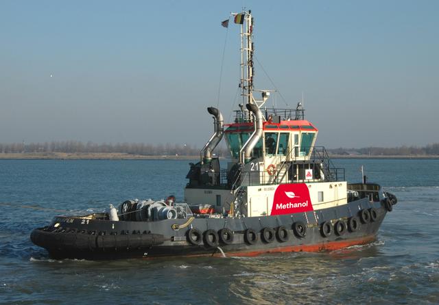 Methatug methanol-powered tuboat. Credit: Port of Antwerp