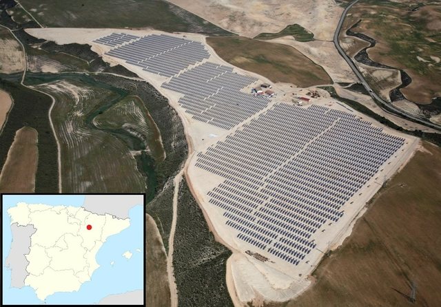 Zaragoza solar farm. Photo: Grupo Jorge