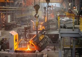 Steelmaking. Photo: Yermolov / Shutterstock