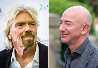 Richard Branson and Jeff Bezos billionaire space race.jpg