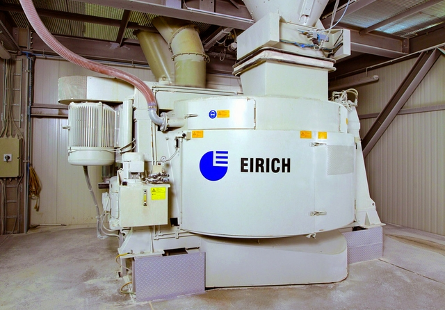 Skeleton to use EIRICH mixing systems in the production of