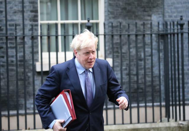 UK PM Boris Johnson. Credit: Ilyas Tayfun Salci / Shutterstock