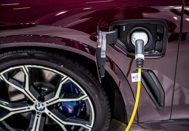 BMW EV charging. Photo: Ivan Radic / Shutterstock