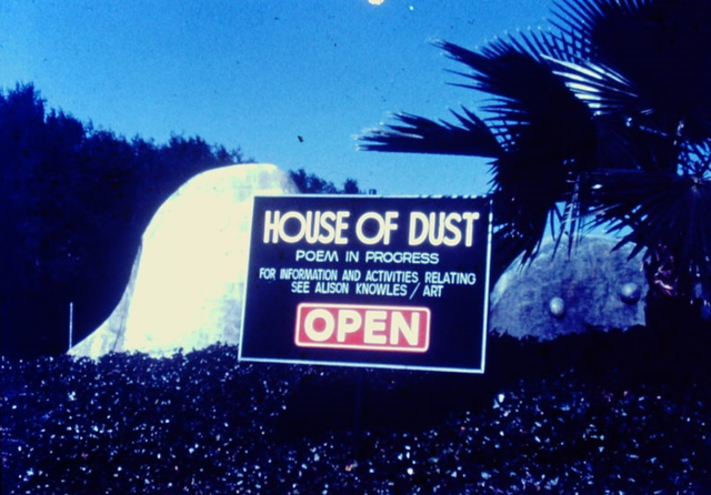 Alison Knowles' The House of Dust. Credit: Alison Knowles via WASP