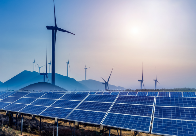 Renewable energy. Credit: hrui / Shutterstock