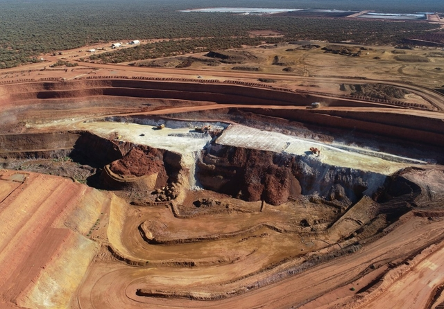 Lynas operations in Laverton, Western Australia. Photo: Lynas / Facebook