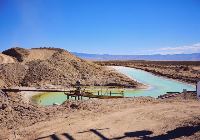Brine in lithium mining. Credit: Cavan-Images / Shutterstock