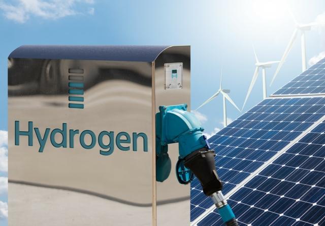Green hydrogen. Photo: Scharfsinn / Shutterstock
