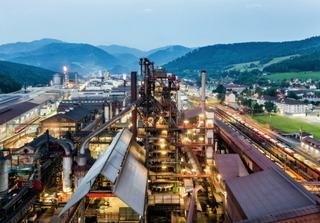 voestalpine steelplant in Donawitz, Austria. Photo: voestalpine