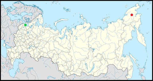 St. Petersburg & Baimskaya copper mine, Russia