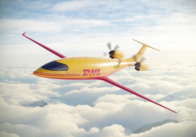 DHL Eviation Alice electric plane. Photo: DHL