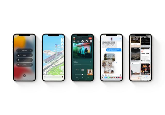 Apple iOS 15. Source: Apple
