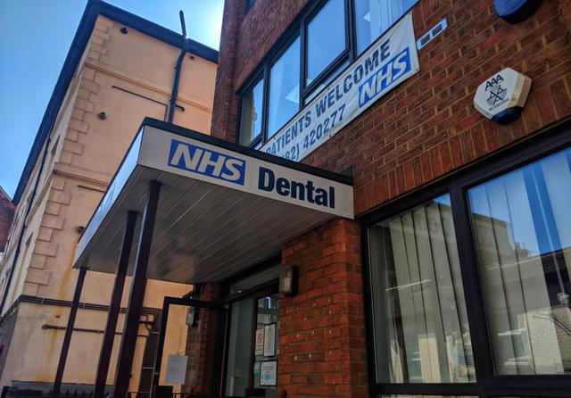 NHS Dental Surgery. Credit: T H Shah / Shutterstock