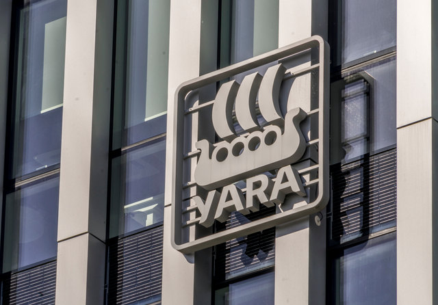 Yara logo. Credit: Veja / Shutterstock