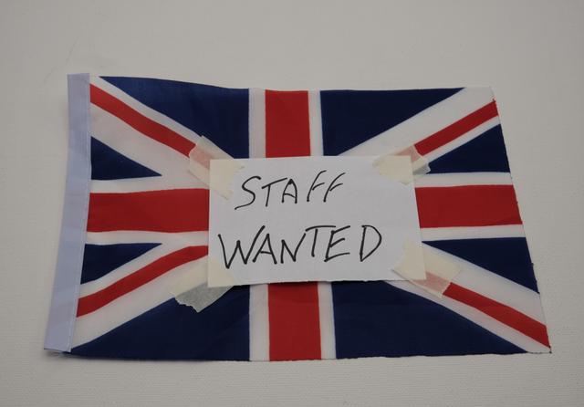 Staff wanted UK. Credit: EnzoVi / Shutterstock