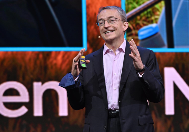 Intel CEO Pat Gelsinger. Credit: Walden Kirsch / Intel Corporation