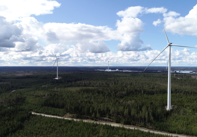Sweden wind farm. Credit: Baywa r.e
