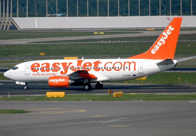 EasyJet. Credit: Caribb / Flickr (Licence: CC2.0)