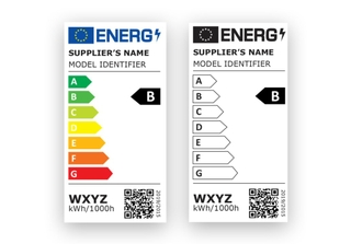EU energy labels for lighting products